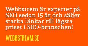 Sökmotoroptimering SEO-företag i Strängnäs