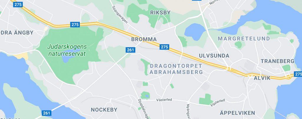 Sökmotoroptimering SEO i Bromma